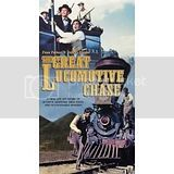Great Locomotive Chase (1956)vhs